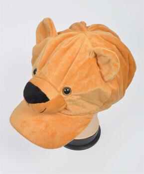 Animal Fleece Cap - Brown Bear ACAP2000