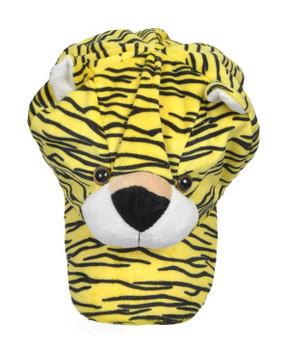 Animal Fleece Cap - Yellow Tiger ACAP2010