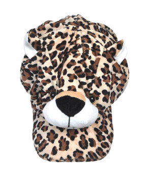 Animal Fleece Cap - Leopard ACAP2030