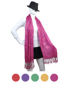 Light Viscose Scarf LS4400