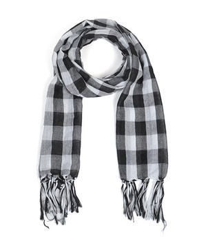 12pc Pre-Pack Viscose Plaid Scarf LS4460