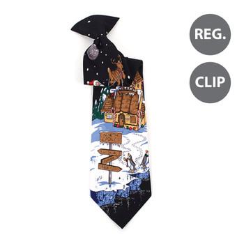 Boy's Christmas Tie BN4603-BK