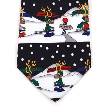 Boy's Christmas Tie BN4602-BK
