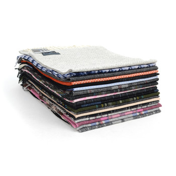 24pc Random Assorted 100% Wool Scarf Pre-Pack  - HWS24/ASST