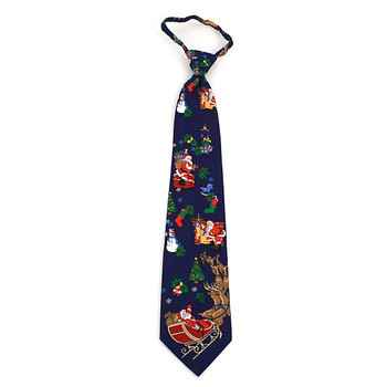 Poly Zipper Christmas Tie PZX4600-NV