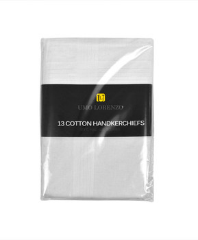 Men's Cotton Handkerchiefs 13pcs Set H013