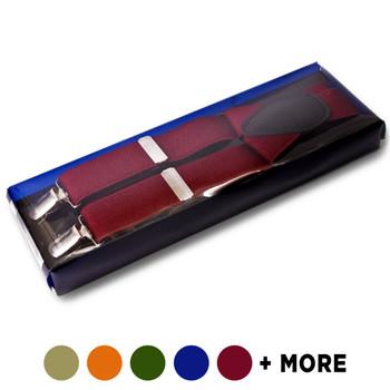 Men's Boxed Clip Suspenders CSB4601