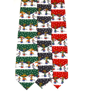 12pc Assorted Christmas Zipper Ties PZX4604ASST