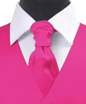 Fusia Poly Solid Satin Cravat FC1701-13
