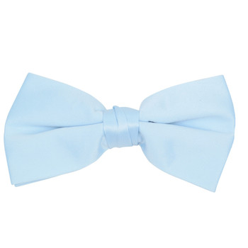 Boy's Poly Satin Clip On Bow Ties BBC1701