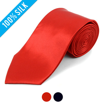 X-Long Silk Satin Tie SSX1301
