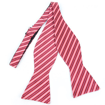 100% Silk Woven Freestyle Bow Tie FBS3701