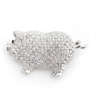12pc. Brooch - Pig IMBCBR0150