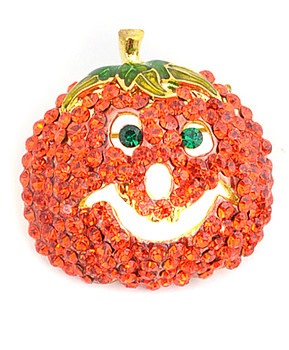 12pc. Brooch - Smiling Jack Pumpkin IMBCBR0504