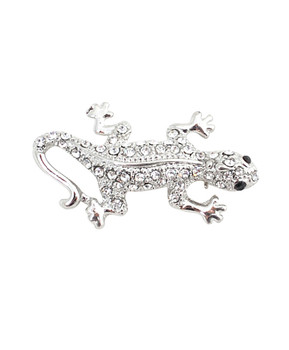 12pc. Brooch - Silver Lizard IMBCBR08731