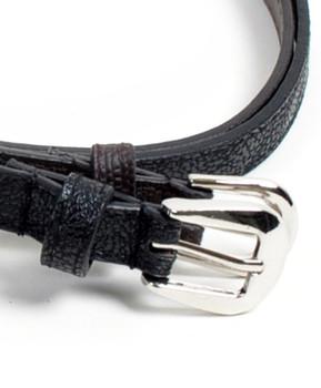 12pc Ladies Skinny Belt Solid Duo Pack CHX61