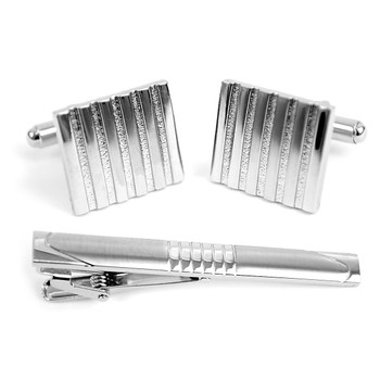 Cufflink and Tie Bar Set CTB2307