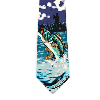 """Fishing"" Boy's Novelty Tie BN2608"