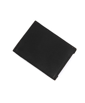Leather Money Clip MC45BK