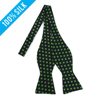 Silk Woven Freestyle Bow Tie FBS5110