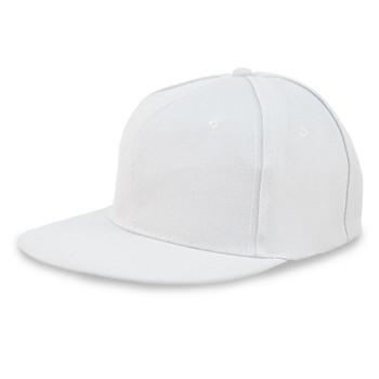 Solid Flat Bill Snapback Cap (FBFCAP2S)