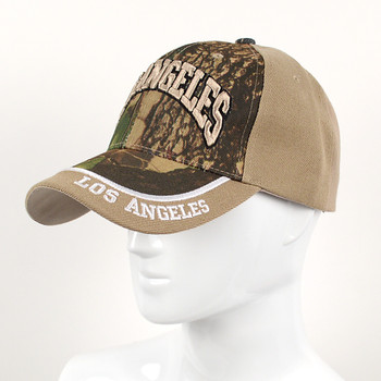 Los Angeles Camo 3D Embroidered Baseball Cap, Hat EBC10293