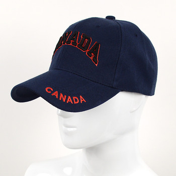 Canada Navy 3D Embroidered Baseball Cap, Hat EBC10307