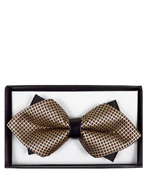 Diamond Tip Banded Bow Tie DBB3030-24