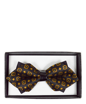 Diamond Tip Banded Bow Tie DBB3030-06