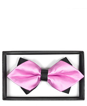Diamond Tip Banded Bow Tie DBB3030-39