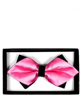 Diamond Tip Banded Bow Tie DBB3030-41