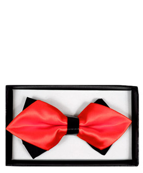 Diamond Tip Banded Bow Tie DBB3030-43