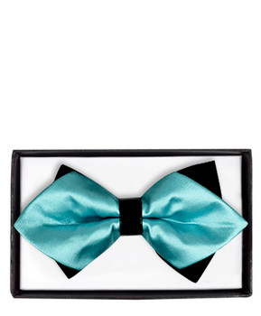 Diamond Tip Banded Bow Tie DBB3030-47