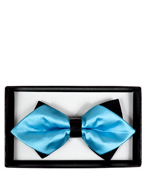 Diamond Tip Banded Bow Tie DBB3030-51