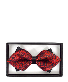 Diamond Tip Banded Bow Tie DBB3030-26