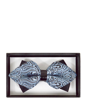 Diamond Tip Banded Bow Tie DBB3030-27