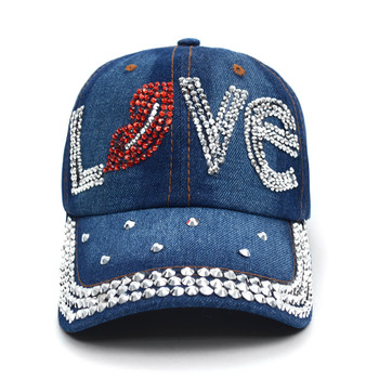 """Bling Studs Cap """"Love"""" CP9587"""