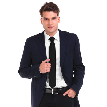 Poly Solid Satin Tie PS1301