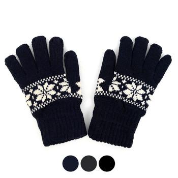 24pc. Men's Knit Winter Gloves GM1000