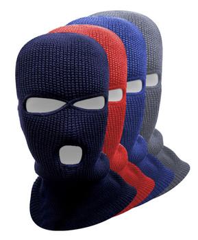 3 Holes Balaclava Face Mask/Ski Masks - LH1003