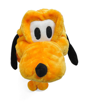 Animal - 6pc Yellow Dog Plush Winter Hat HATC1160