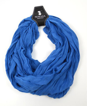 12pc Viscose Infinity Scarf LS4310IF