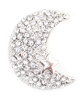12pc. Brooch - Lune Moon IMBCBR0867
