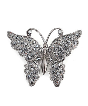 12pc. Brooch - Butterfly IMBCBR0821
