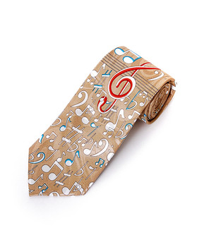 Music Note Novelty Tie NV1557