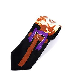 Bible & Cross Novelty Tie NV13052