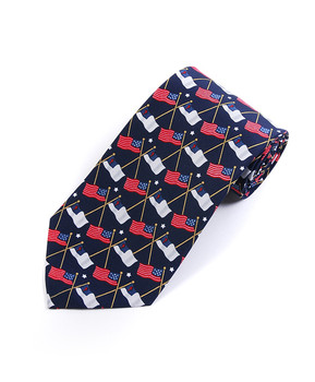 Flags Novelty Tie NV1527