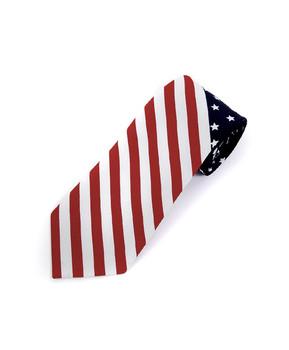 Flag Novelty Tie NV13127