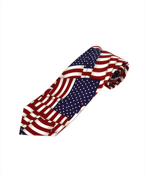 Flags Novelty Tie NV13130
