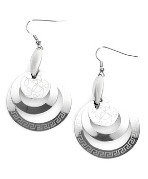 Dangle Earrings Stainless Steel - IMJS0559